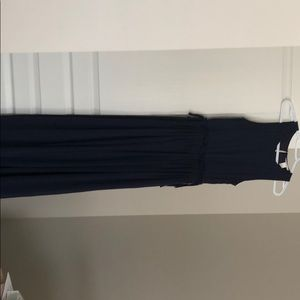H&M Navy Maxi Dress